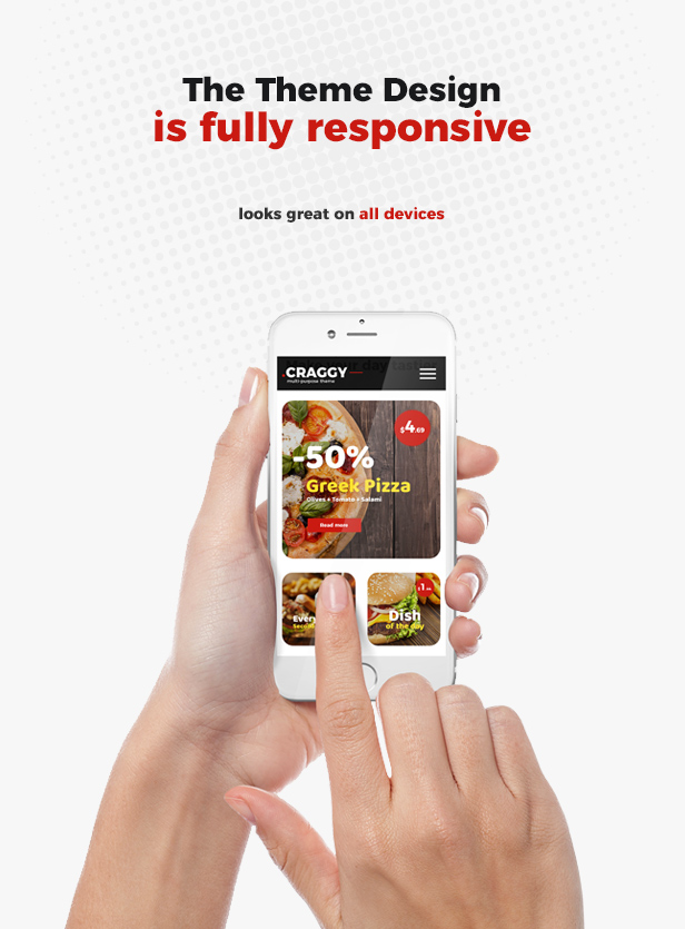 Craggy - Food Delivery, Services & Bitcoin Crypto Currency Multi-purpose WordPress Theme - 9